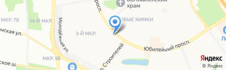 Пивной домик на карте Химок