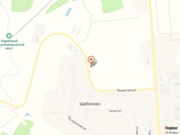 Остановка Щеболово (Московская область)