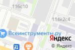 Схема проезда до компании Ассоциация профессионалов антикризисного управления в Москве