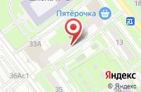 Схема проезда до компании Авто-Арт в Серпухове