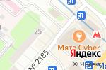 Схема проезда до компании Лотереи Москвы в Москве