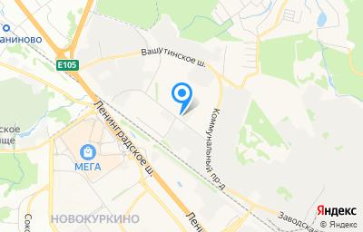 Местоположение на карте пункта техосмотра по адресу Московская обл, г Химки, проезд Транспортный, влд 4