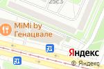 Схема проезда до компании Магазин штор и карнизов в Москве