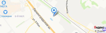 Белвуд Системз на карте Химок