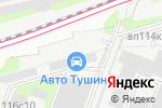 Схема проезда до компании D2 Racing в Москве