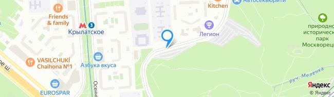 улица Крылатские Холмы