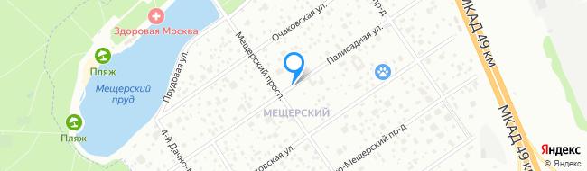 Палисадная улица