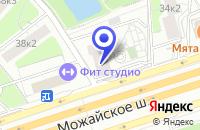 Схема проезда до компании КБ МТИ-БАНК в Москве