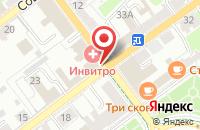 Схема проезда до компании Авиценна в Серпухове
