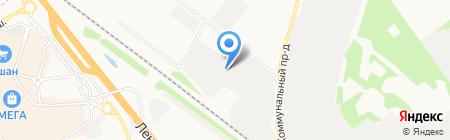 Himkisklad на карте Химок