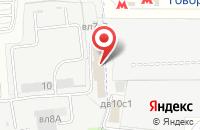 Схема проезда до компании Объединенная Ассоциация Деловой Авиации в Москве