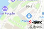 Схема проезда до компании Бот-Сервис в Москве