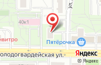 Схема проезда до компании Автоматы.ру в Москве
