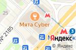 Схема проезда до компании Сервис Тренд в Москве