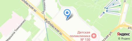 Росинпроект на карте Москвы