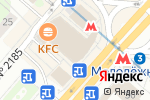 Схема проезда до компании Золотая Стрекоза в Москве