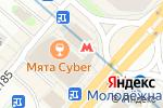 Схема проезда до компании Пицца Пи в Москве