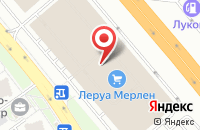 Схема проезда до компании Технофронт в Москве
