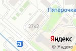 Схема проезда до компании Частный мастер в Москве