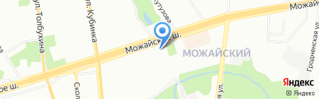 Можайка на карте Москвы
