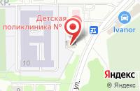 Схема проезда до компании Химхолод в Химках