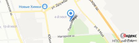 Русская изба на карте Химок