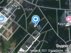 Москва, улица Ярцевская, д. 27к3
