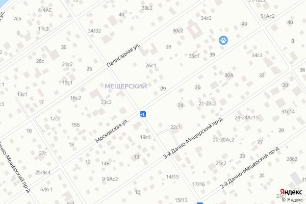 Ремонт телевизоров Улица Московская на яндекс карте