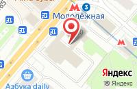 Схема проезда до компании Апрохим-Пресс в Москве