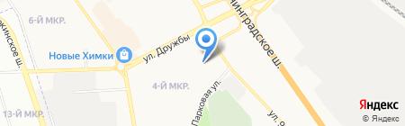 Детский сад №44 Рябинушка на карте Химок