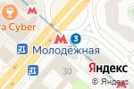 Схема проезда до компании КБ Преодоление в Москве