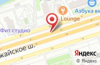 Схема проезда до компании Унитазы-онлайнРу в Москве