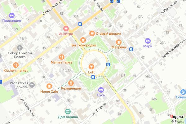Ремонт телевизоров Город Серпухов на яндекс карте