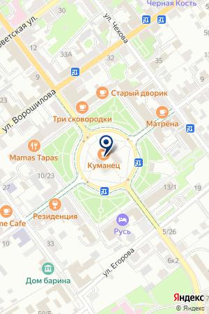 АМТЕЛ на карте Серпухова