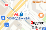 Схема проезда до компании Кофе & Пончики в Москве