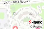 Схема проезда до компании Канвас-Строй в Москве