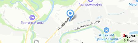 САМОСПАС на карте Москвы
