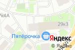Схема проезда до компании Абриколь в Москве