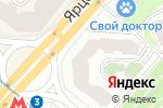 Схема проезда до компании Экомедика в Москве