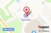 Схема проезда до компании АЗС ЛУКОЙЛ в Михалково