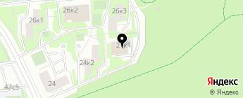 СФ-Моторс на карте Москвы