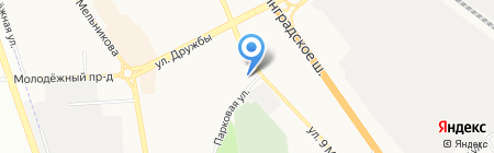 Ева на карте Химок