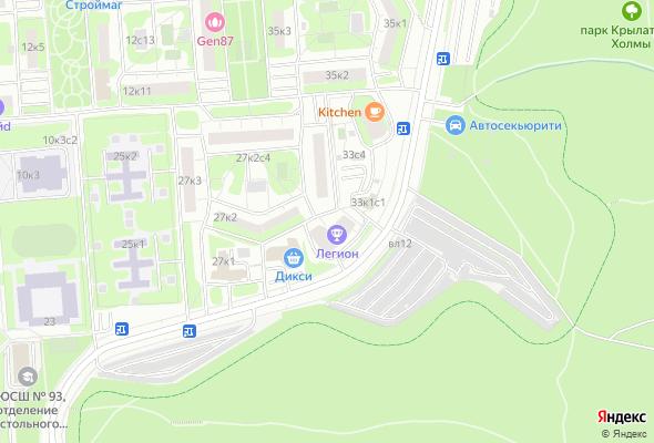 жилой комплекс Крылатские Огни