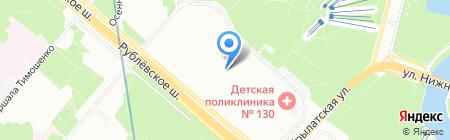 Спецтрест на карте Москвы