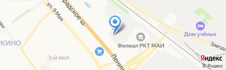 ДЕКАРТ на карте Химок