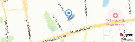 Артэкс мобайл на карте Москвы