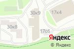 Схема проезда до компании ЮИТ СитиСтрой в Москве