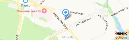 Меховое ателье Марии Щукиной на карте Химок