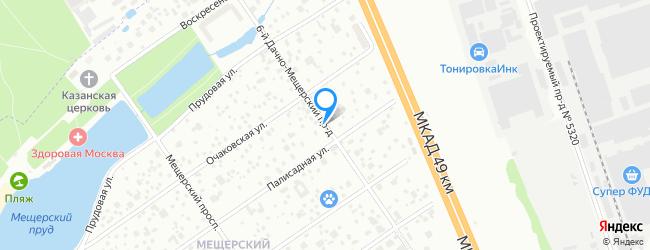 проезд Дачно-Мещерский 6-й