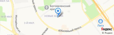 Детский сад №9 на карте Химок